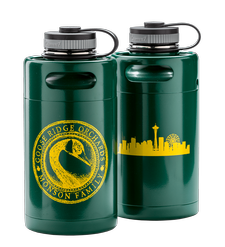 64oz Green Growler Image