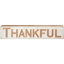 Thankful Carved Image