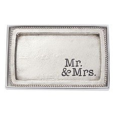 Mr and Mrs Silver Tray