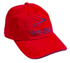Red Canvas Logo Hat