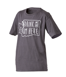 Drink Wine From Here Shirt Unisex