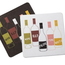 Board Coasters Asst. Bottles