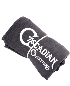 Grey Cascadian Outfitters Blanket