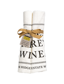 Smile There's Wine Towel Image