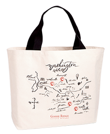 Washington Map Tote