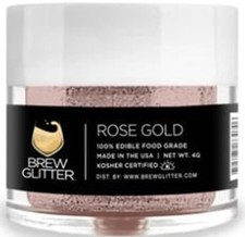 Rose Gold Wine & Cider Glitter 4g
